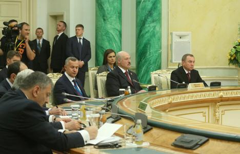 Лукашэнка: Роўныя эканамічныя ўмовы ў ЕАЭС і безбар'ернае асяроддзе да гэтага часу не створаны