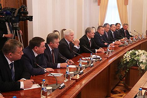 Кабякоў: Беларусь і Курганская вобласць здольны дасягнуць тавараабароту $100 млн