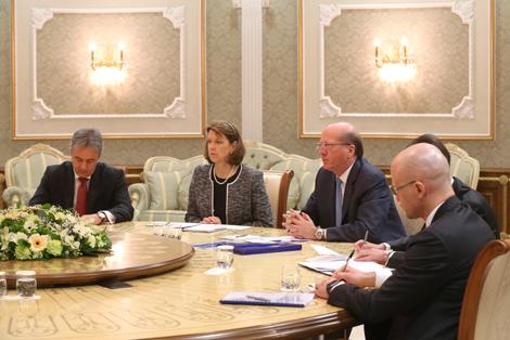 Лукашэнка ўпэўнены ў рэзультатыўнасці ўзаемадзеяння ЕБРР з дзяржсектарам эканомікі Беларусі