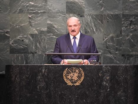 Лукашэнка: ААН не павінна выкарыстоўвацца для дэманстрацыі чыёй-небудзь сілы