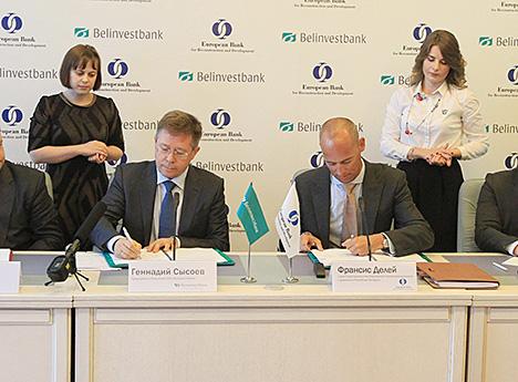 Дэлей: ЕБРР разлічвае на пашырэнне супрацоўніцтва з Беларуссю