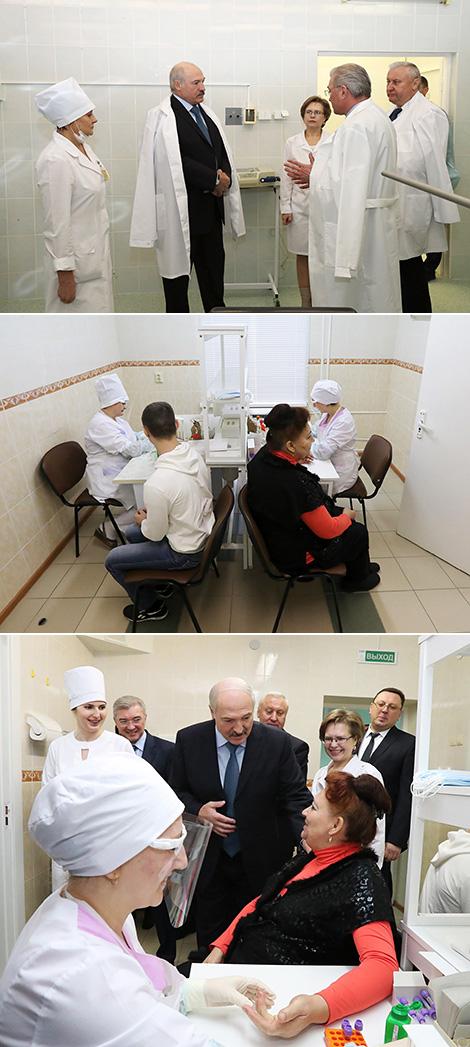 Лукашэнка запатрабаваў звярнуць больш сур'ёзную ўвагу на медустановы ў раёнах