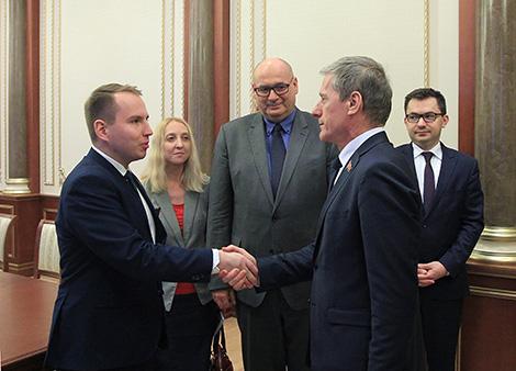 Пірштук: Беларусь і Польшча пры актыўным супрацоўніцтве могуць прыбавіць у тавараабароце яшчэ $1 млрд