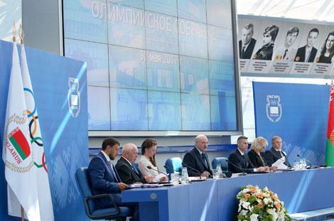 Лукашэнка: У спорце недапушчальна маляваць планы для фінансавання без рэальнай ацэнкі шанцаў