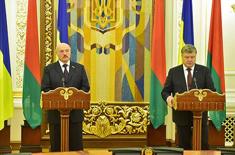 Беларусь і Украіна будуць імкнуцца да тавараабароту ў памеры $8 млрд
