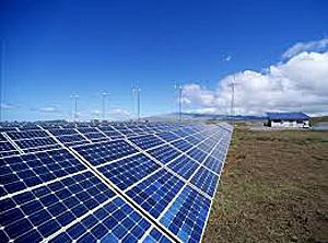 Першая ў Беларусі сонечная электрастанцыя