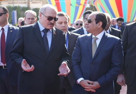 Беларусь прапануе Егіпту паступовую перадачу тэхналогій па вытворчасці аўтамабільнай тэхнікі