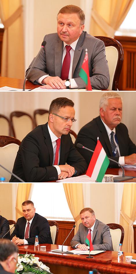 Беларусь прапанавала Венгрыі развіваць супрацоўніцтва ў банкаўскай сферы, АПК, атамнай энергетыцы