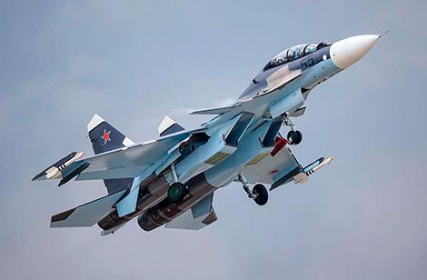 Беларусь закупіць у Расіі партыю знішчальнікаў Су-30СМ