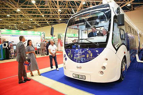 Беларускія электробусы