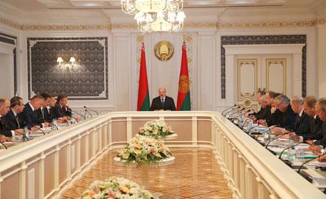 Лукашэнка: Беларуская будаўнічая галіна здольна нарасціць экспарт