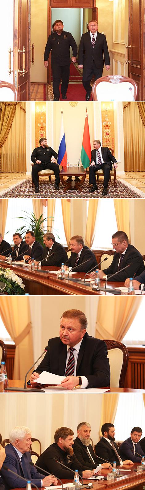 Кабякоў: Беларусь і Чачня маюць сур'ёзны патэнцыял для развіцця гандлёвага супрацоўніцтва