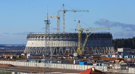Амаль $445 млн плануецца асвоіць на будаўніцтве Беларускай АЭС у 2016 годзе
