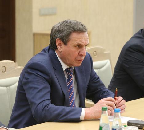 Губернатар Новасібірскай вобласці Уладзімір Гарадзецкі