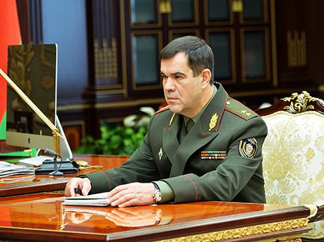 Старшыня КДБ Беларусі Валерый Вакульчык