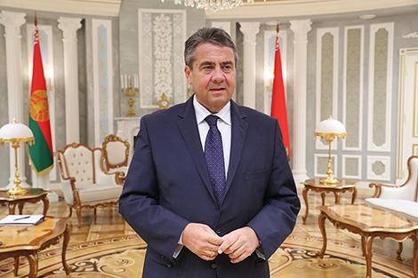 Віцэ-канцлер, федэральны міністр замежных спраў Германіі Зігмар Габрыэль