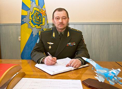 Ігар Голуб назначаны камандуючым Ваенна-паветранымі сіламі і войскамі ППА