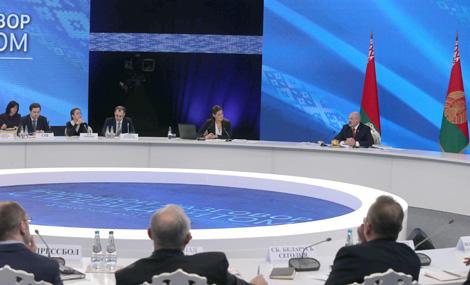 Лукашэнка падтрымаў ідэю правядзення міжнароднай канферэнцыі па Беларусі