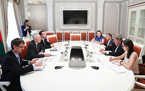 У Беларусі і МАП шмат перспектыўных напрамкаў узаемадзеяння па развіцці сацыяльнага партнёрства
