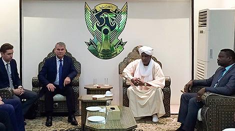 Беларусь і Судан дамовіліся парламенцкімі метадамі стымуляваць нарошчванне тавараабароту