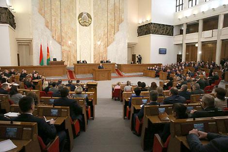 Прэзідэнт Беларусі Аляксандр Лукашэнка звярнуўся са штогадовым Пасланнем да белорускага народа і Нацыянальнага сходу