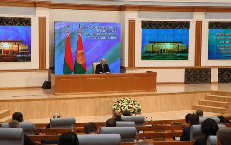 Лукашэнка апасаецца дэзынтэграцыі на прасторы ЕАЭС
