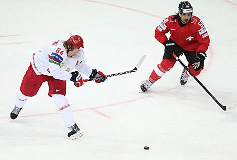 Беларусь - Швейцария - 4:3