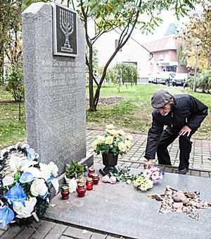 В Бресте отметили годовщину уничтожения еврейского гетто