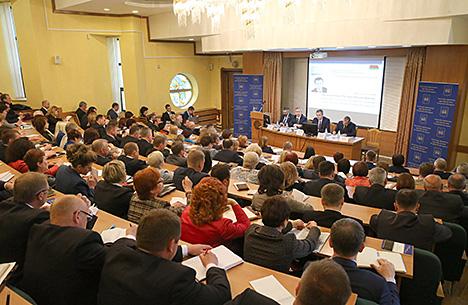 Бузоўскі: Вылучэнне дэлегатаў - гэта пачатак Усебеларускага народнага сходу