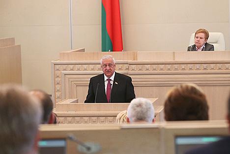 Мясникович переизбран председателем Совета Республики