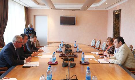 Шорец отмечает активность минских кандидатов на выборах в парламент