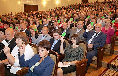 В Витебской области состоялись выборы представителей в Совет Республики