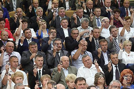 В парламент от Гродненской области избраны члены Совета Республики