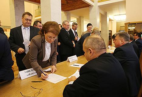 Андрэйчанка выбраны старшынёй Палаты прадстаўнікоў шостага склікання