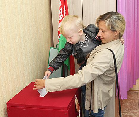 Датэрміновае галасаванне на парламенцкіх выбарах стартуе ў Беларусі