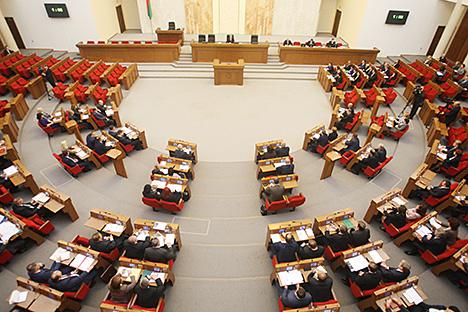 Віцэ-спікерам Палаты прадстаўнікоў выбраны Баляслаў Пірштук