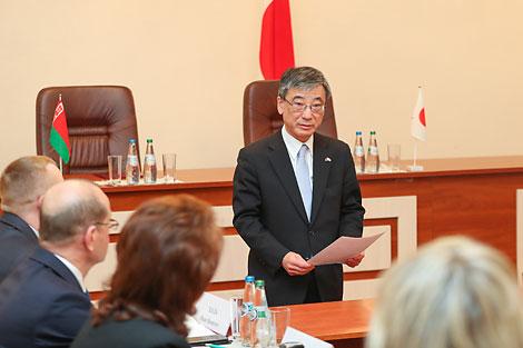 Чрезвычайный и Полномочный Посол Японии в Беларуси Хироки Токунага