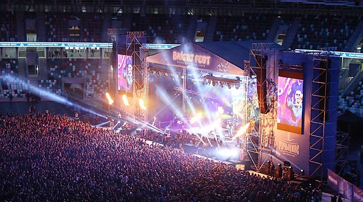 """Bright Festival на стадионе """"Динамо"""""""