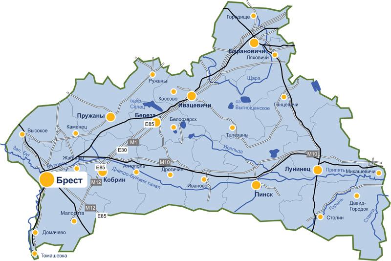 Сколько населения в ляховичах брестской области
