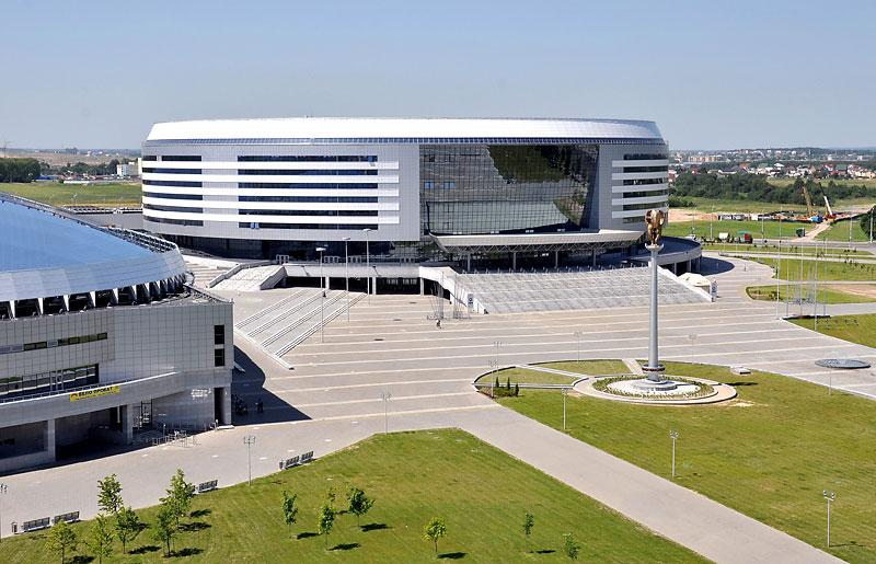 Площадка чемпионата мира по хоккею 2014