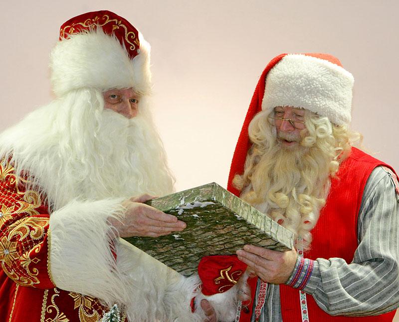 Санта клаус и дед мороз картинки