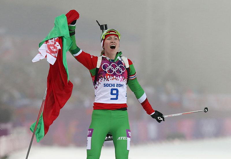 Darya Domracheva Biathlon