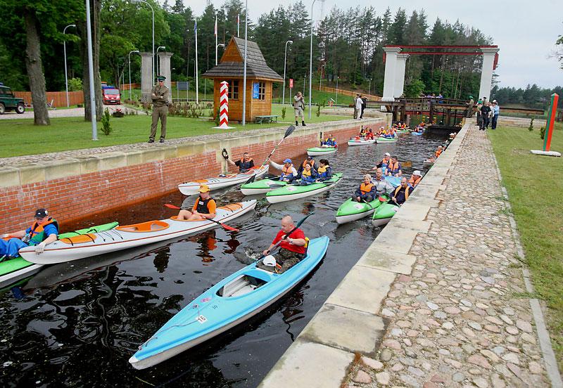 В Беларусь на байдарке по Августовскому каналу
