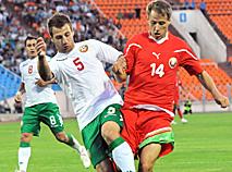 Товарищеский матч беларусь болгария