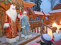c4e8736856e7 Резиденция белорусского Деда Мороза в Беловежской пуще   Belarus.by